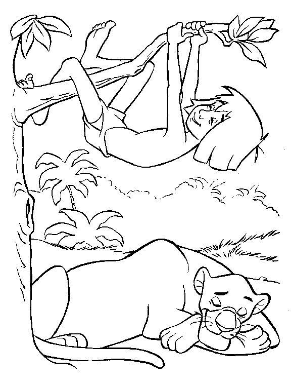 coloring pages jungle vines - photo#41