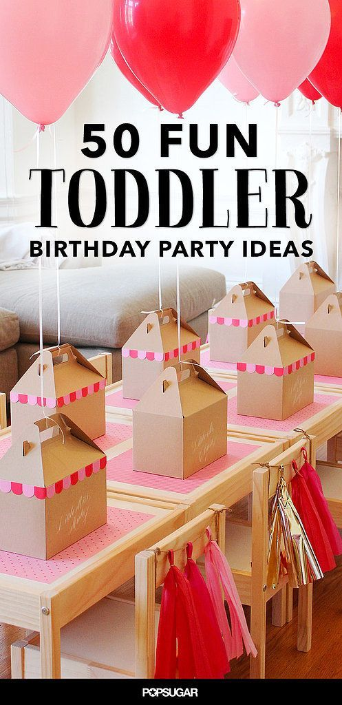 68 Fun Ways To Fete Your Terrific Toddler Birthday PartiesKid
