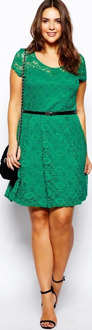 Plus Size Jeweltone Party Dress - article - http://www.boomerinas.com/2014/04/11/party-dresses-13-jeweltone-colors-for-year-round-style/
