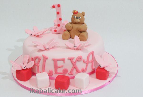 1st Birthday of Alexa in Dalung Bali ikabalicake.com