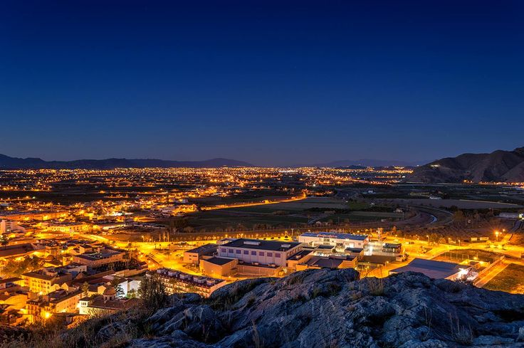 Night Photography of Alicante, Spain