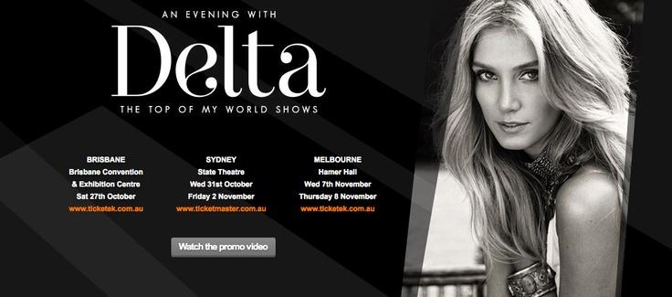 Delta Goodrem tour image #celebrity #makeup by Noni Smith