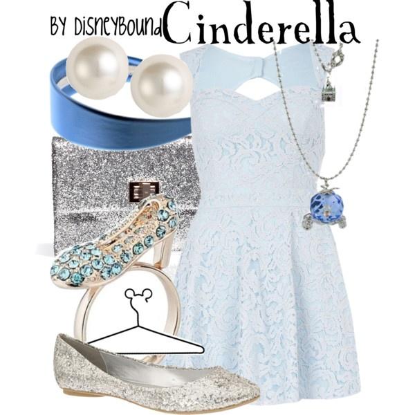 Disneybound: Inspiration Outfits, Cinderella Outfits, Disney Outfits, Cinderella Dresses, Halloween Outfits, Disney Inspiration, Disney Bound, Disneybound, Ball Dresses