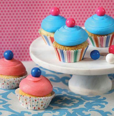Bubble Gum Cupcakes Recipe | Bakepedia