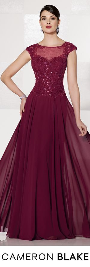 Cameron Blake Fall 2015 - Style No. 215626 cameronblake.com #eveninggowns #motherofthebridedresses