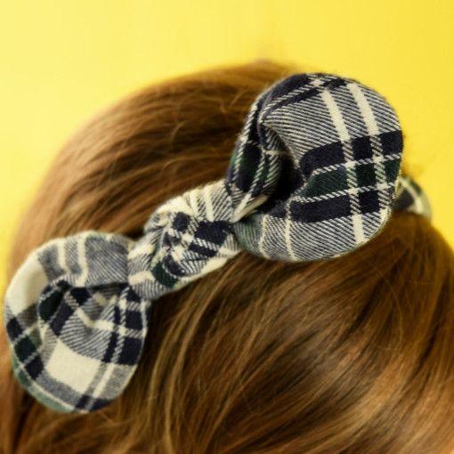Pretty Bow in Black and White Headband #Colorize #ColorizeFashion