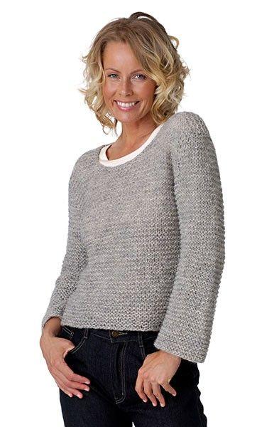 Retstrikket trøje - Designs - Hjelholts Uldspinderi