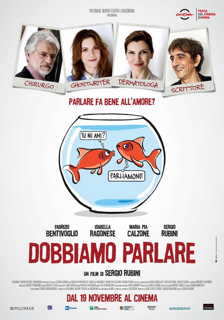 Dobbiamo Parlare, il film di Sergio Rubini con Fabrizio Bentivoglio, Isabella Ragonese e Maria Pia Calzone, dal 19 novembre al cinema.