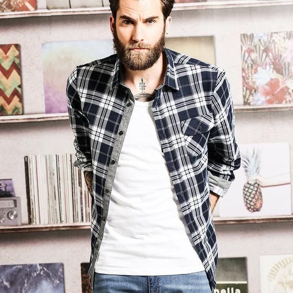 Chemise à carreaux homme - Collection Automne / Hiver 2016