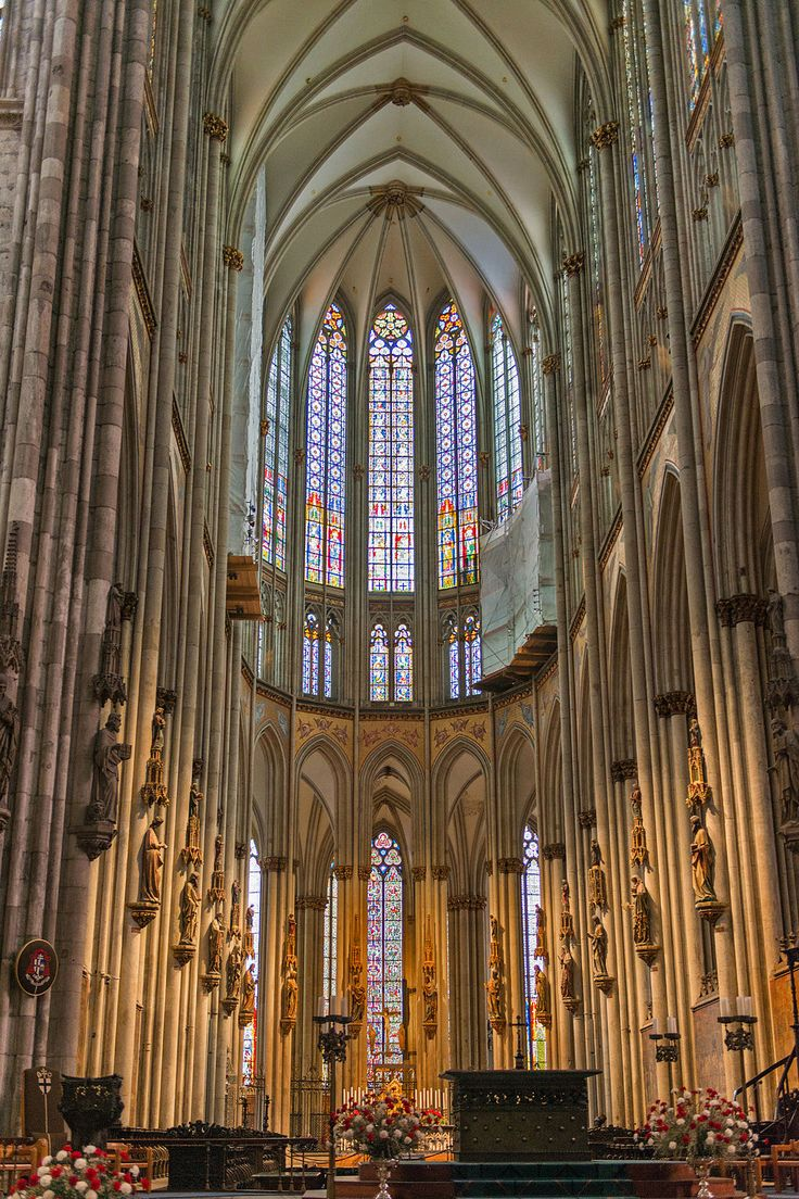 Wiki 01 Choir Of Cologne Cathedral   Gothic Architecture   Wikipedia