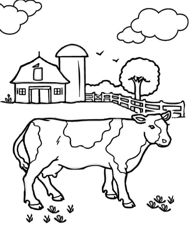 14 Printable Cow Coloring Pages Pdf Print Color Craft Coloringpages Preschoolactivities Cow Coloring Pages Farm Coloring Pages Animal Coloring Pages