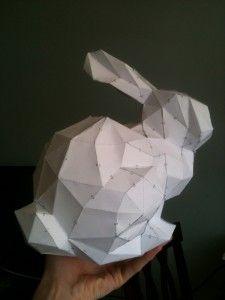 Pepakura bunny