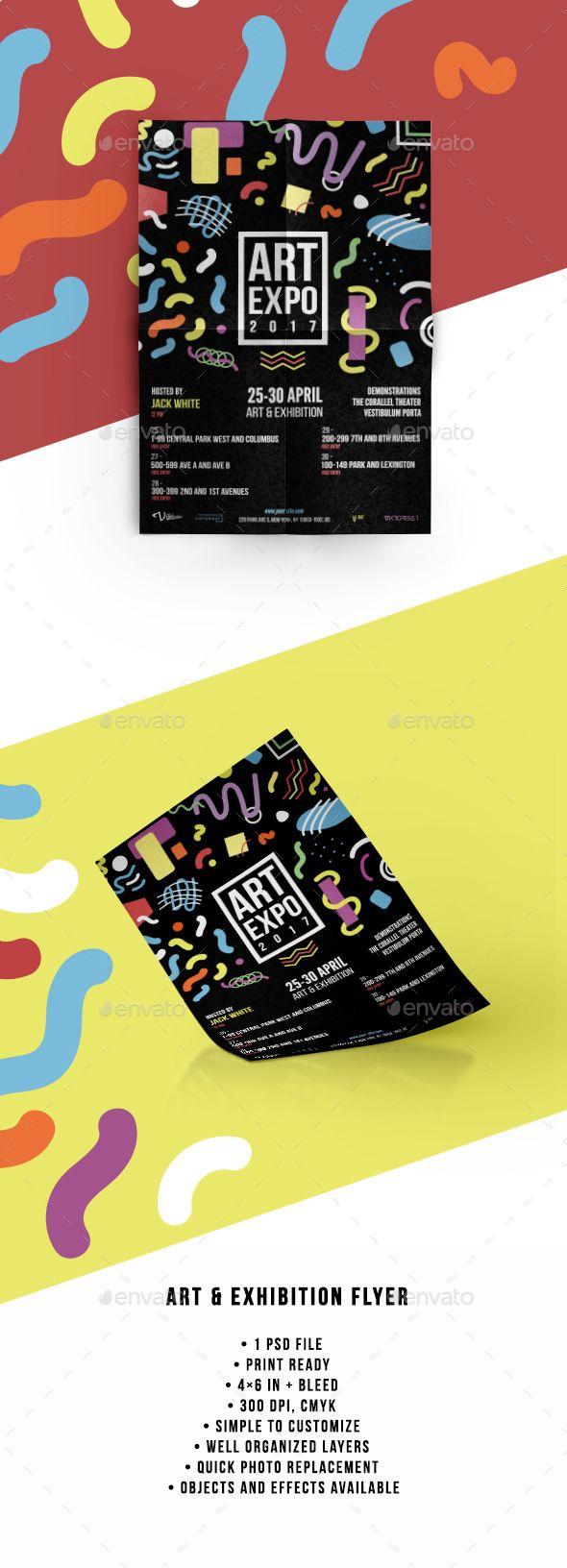 Art & Exhibition Flyer - Events Flyers