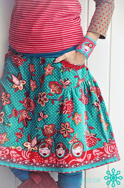"""Ditto: """"I think I need to make skirt like this"""" awesome!"""