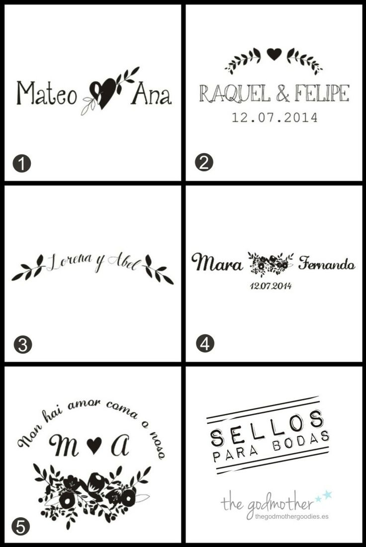 Sellos personalizados para bodas- sellos para bodas http://www.thegodmothergoodies.es/shop/es/46-sellos-para-bodas