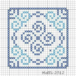 Creative Workshops from Hetti: SAL Delfts Blauwe Tegels, Deel 5 - SAL Delft Blue Tiles, Part 5.