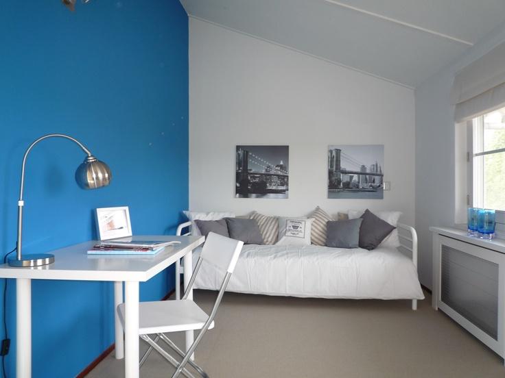 Tienerkamer. DreaMstyling maakt woningen klaar voor de verkoop en verhuur! Vastgoedstyling, tijdelijke inrichting, meubel verhuur, verkoopstyling.