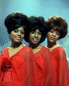 The Supremes: Diana Ross, Mary Wilson & Florence Ballard 1960s