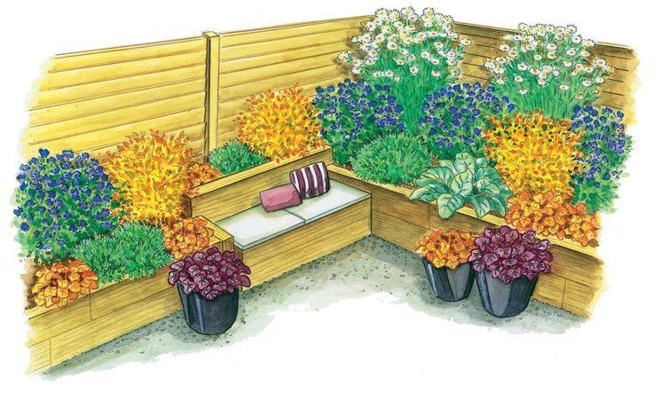 Zum Nachpflanzen: Herbstliches Hochbeet