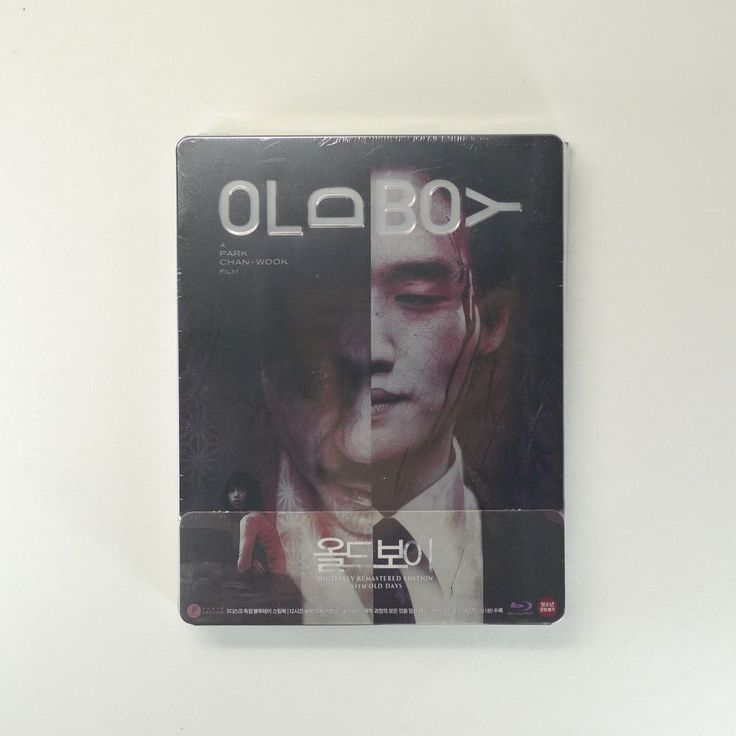 OLDBOY Blu-ray [Steelbook with 1/4 Slip Edition, Booklet, Poster, Cards, 3Discs]