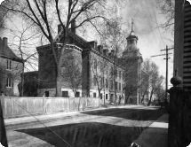 Mont Notre-Dame, Sherbrooke; l'institution d'enseignement vers 1902.