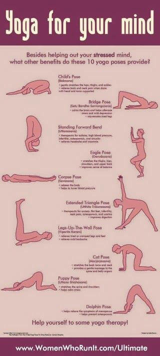 Yoga exercises for your mind