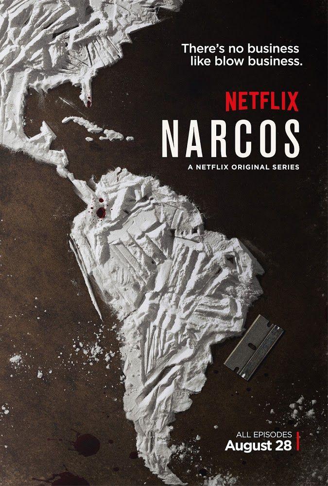Narcos - 1ª Temporada (2015)   Retrato del famoso narcotraficante... Serie de ficción producida por Netflix, aunque con fuerte aspiración...