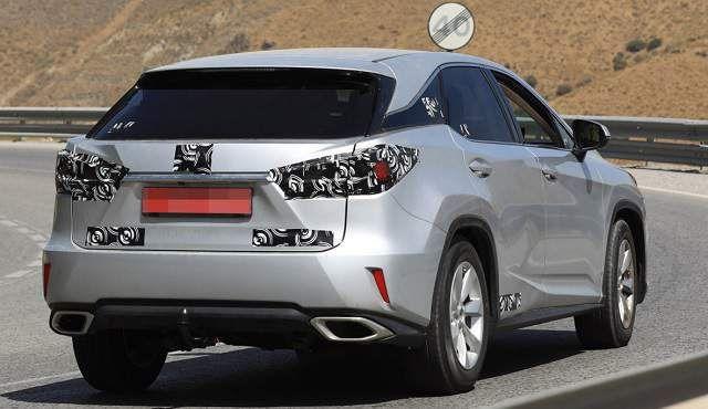 2019 Lexus RX 350 redesign spy shot 2 Lexus rx 350