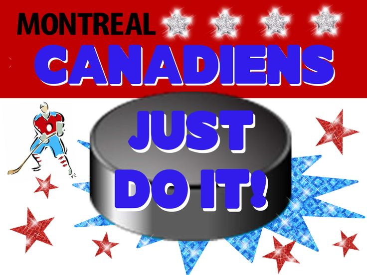 Montreal Canadiens Poster Idea