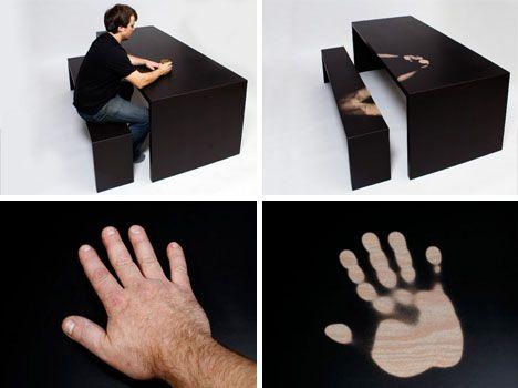 thermochromatic furniture design set