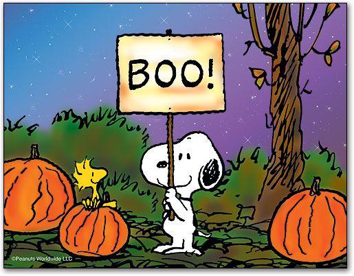 snoopy halloween window clings