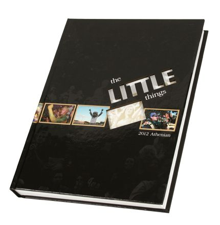 """the little things"" yearbook theme"
