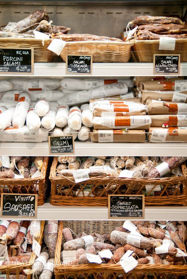 Eataly NYC, an artisanal market featuring specialty restaurants, is a ten-minute walk from the Empire State Building.