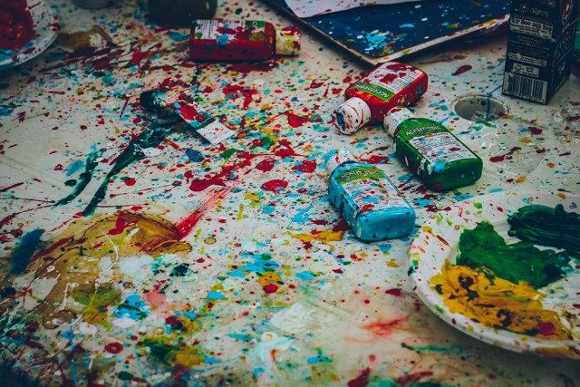 Pintura chorreada #degranero #pintura #madrid