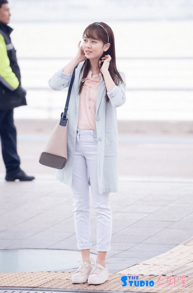 Kim Sohyun's Amazing Airport FASHION