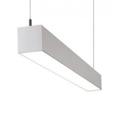 Beam 4 Foot Fluorescent Architectural Suspended Light ...