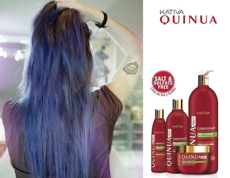 Θεϊκά μαλλιά με τις σειρές περιποίησης Kativa Natural. Η σειρά KATIVA QUINUA PRO ΔΥΝΑΜΗ ΚΑΙ ΔΙΑΤΗΡΗΣΗ ΤΟΥ ΧΡΩΜΑΤΟΣ είναι αυτό ακριβώς που υπόσχεται. Διατήρηση του χρώματος και προστασία στα βαμμένα μαλλιά χάρη στην καινοτόμο φόρμουλα με την οποία έχει σχεδιαστεί, προστατεύει την επιδερμίδα και σχηματίζει ένα προστατευτικό στρώμα στα βαμμένα μαλλιά. Οί δικές σας φωτογραφίες!
