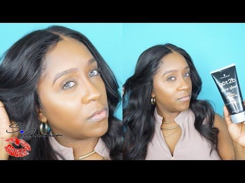HOW TO: FOOL PROOF WAY TO SECURE YOUR LACE FRONT WIG!?! | NO GLUE | NO TAPE USING GOT2B GEL -Learn how to lay down or secure your lace frontal without using Glue or adhesive tape.