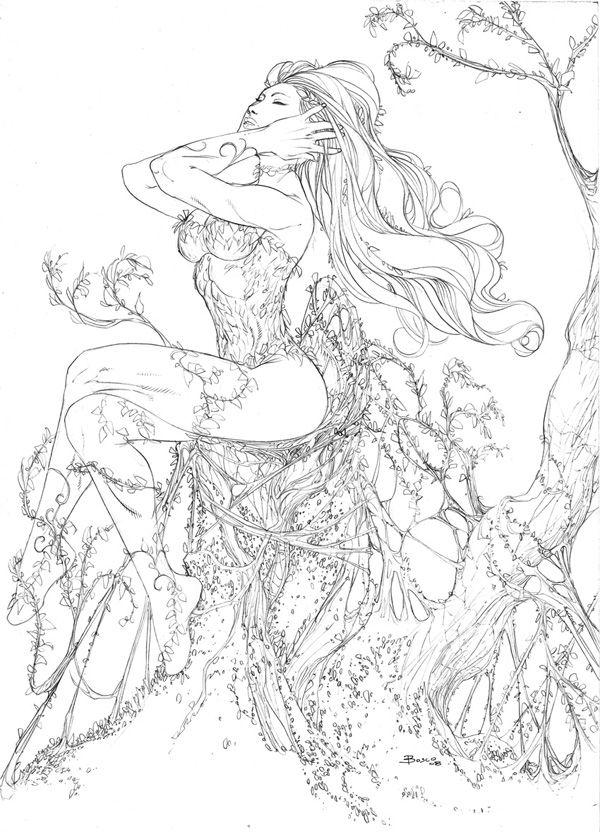 Poison Ivy 2 by boscopenciller.deviantart.com on @deviantART