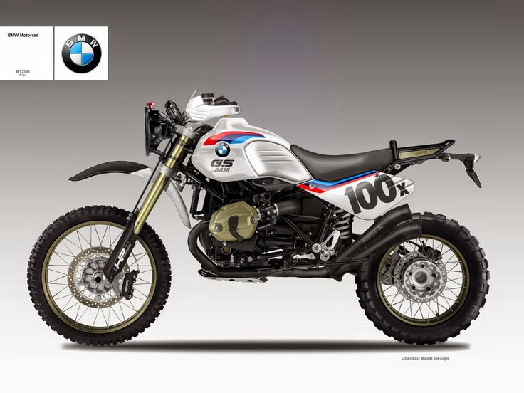 "Motosketches: BMW R 1200 ""BAJA"""