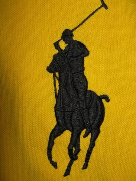 Рубашка мужская с лейблом лошадь