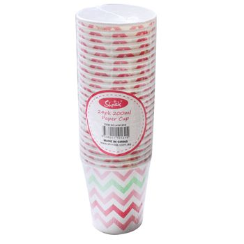 Cups $3.60