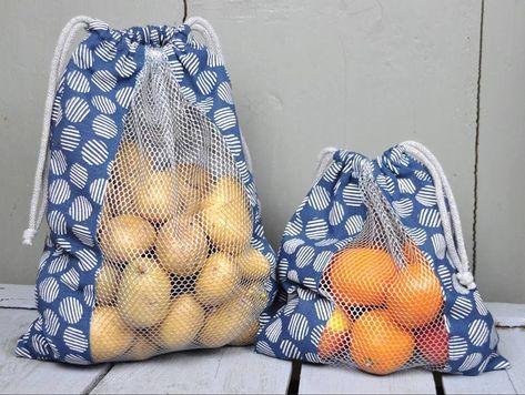 Gemüse- oder Brotbeutel zum Einkaufen, gegen den Plastikmüll! Hier finden Sie …