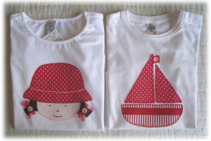 Camisetas personalizadas - lazos de tul: Unas cuantas camisetas......