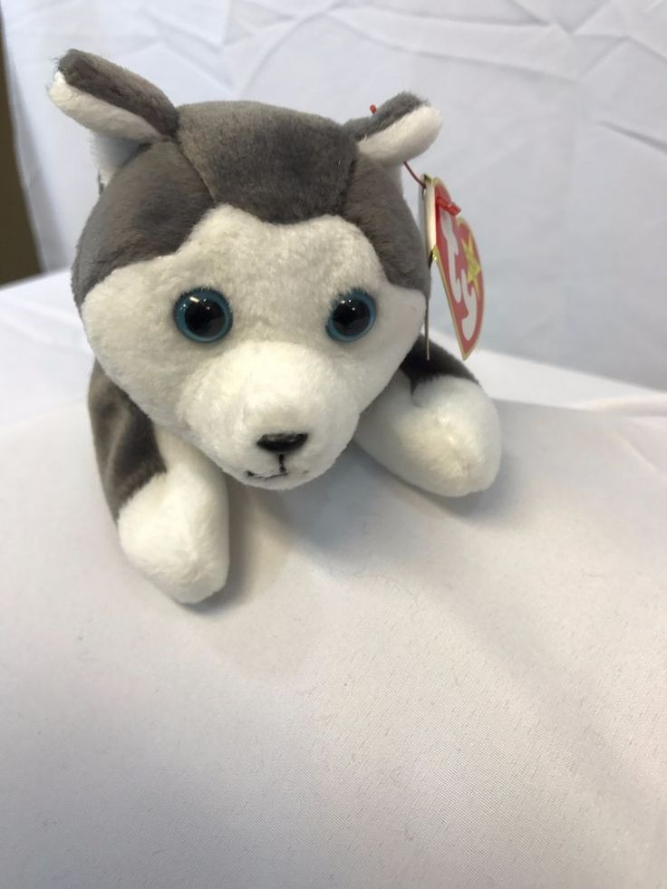 NANOOK TY BEANIE BABY NEW CONDITION SWING TAG 11/21/1996 CHINA #Ty