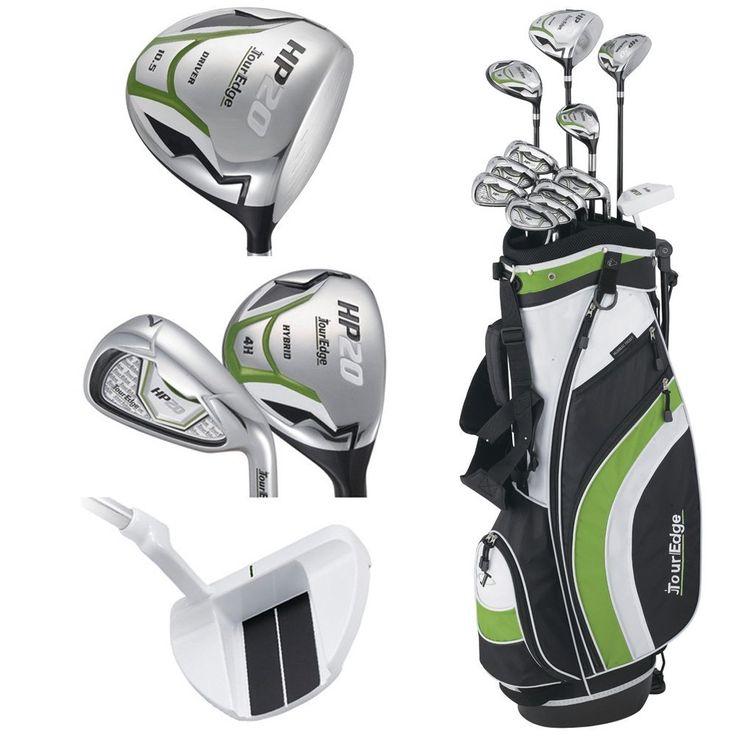Tour Edge Mens HP20 Golf Club Box Sets