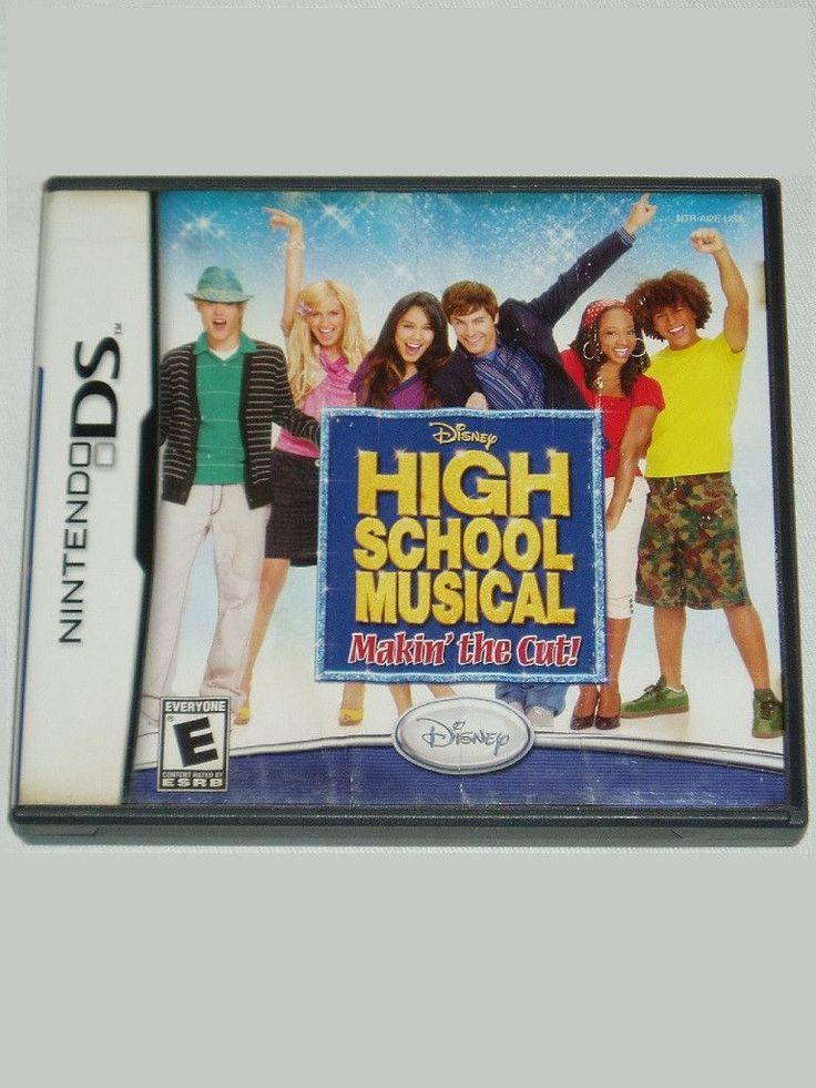 High School Musical: Makin the Cut (Nintendo DS, DSI, 2DS