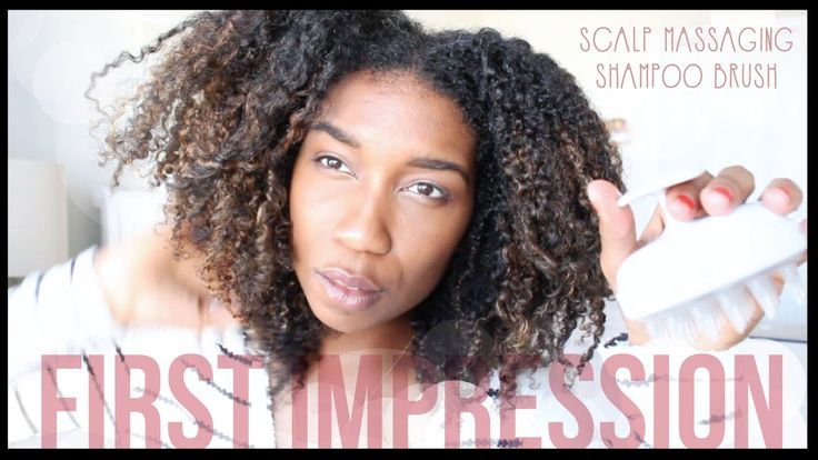 Makes co-washing easier: Vitagoods Scalp Massaging Shampoo Brush First Impression Review + Demo! ...