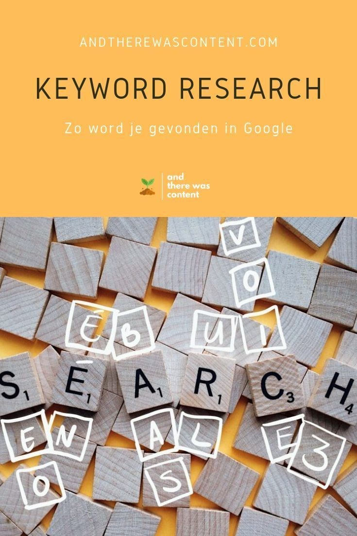 Keyword-Recherche: So finden Sie sich in Google wieder