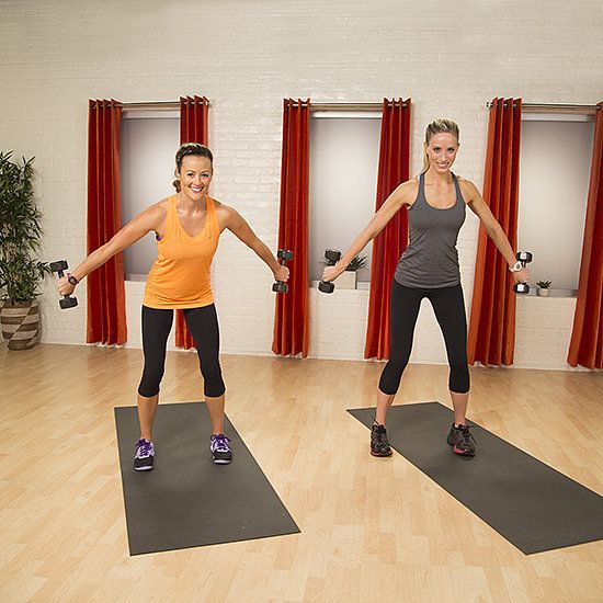 Fitness Quickie: 5-Minute Workout For Sexy, Sculpted Arms: Grab a set of five-pound dumbbells and take five minutes to sculpt some seriously sexy arms!